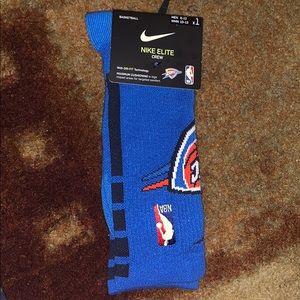 New Nike x NBA Oklahoma City Thunder Socks